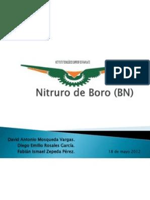 Nitruro De Boro Bn Diamante Deposición Química De Vapor