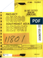Project CHECO Southeast Asia Report Igloo White 1-10-1970 IGLOO WHITE (U) July 1968-December 1969