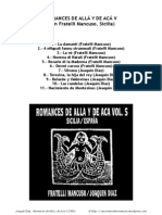 1991 Romances de Allá y de Acá V