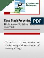 Case Study Presentation-Consumer Behaviour
