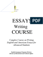 [BHS] 06-English Essays Writing Course for Advanced Students