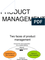 Product Management & Planning