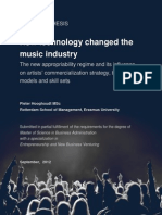 Hooghoudt, P.J.T.M. (2012). How Technology Changed the Music Industry