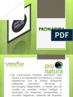 Desarrollo Sustentable Pronatura y Ecosur