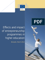 Effects Impact High Edu Final Report En