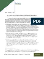FL-26 GBA Strategies for HMP & SEIU (Sept. 2012)