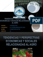 PPT-TENDENCIA DEL SECTOR AGRO EN EL PERU