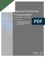 Regional Community Transit