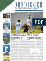 The Oredigger Issue 4 - September 24, 2012