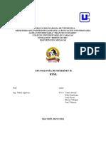 Trabajo Tec Internet HTML III III