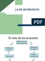 El Ciclo de Un Proyecto