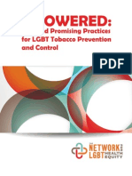 MPOWERED Best and Promising Practices in LGBT Tobacco Prevention and Control
