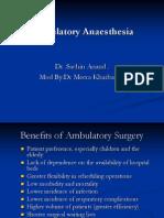 Ambulatory Anaesthesia 97 1234