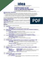 Idea Construyendo Valor a Traves de La Gestion de Personas 17-11-11
