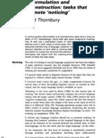 Scott Thornbury Reformulation and Reconstruction