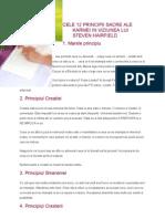 Cele 12 Principii Sacre Ale Karmei in Viziunea Lui Steven Hairfield