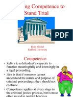 Competence to Stand Trial