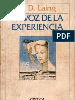 La Voz de La Experiencia - Ronald Laing - 1982