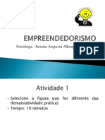 AULA EMPREENDEDORISMO apresentação