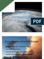 Nociones de meteorología U3