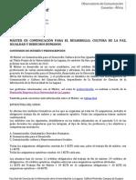 Info Máster Comuncación para el Desarrollo ULL