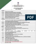 Calendário Acadêmico 2012 - Atualizado Greve (1)