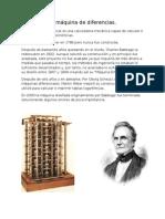 Babbage y la máquina de las diferencias.