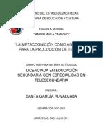 LA_METACOGNICIÓN_COMO_ANDAMIAJE_PARA_LA_PRODUCCIÓN_DE_TEXTOS_SANTA_GARCIA_RUVALCABA
