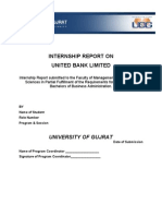 Intership Report Guidlines