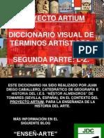 Diccionario visual de términos artísticos II. L-Z