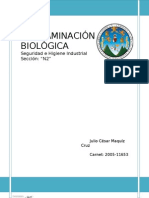 CONTAMINACIÓN BIOLÓGICA