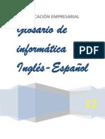 Glosario Inglés COMPUTARIZADO