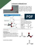Utlidades Los Acidos Carboxilicos Vaneza