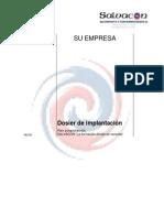 modelo organizativo de implantación y organización de simulacros de Miguel Gawenda para Salvacon