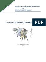 A Survey of Access Control Methods