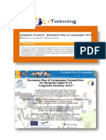 Linguistic Scenery- European Day of Languages 2012