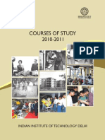 Courses of Study 2010-11