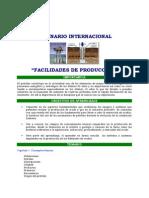 Facilidades de Producción (3)