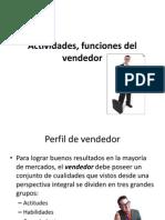 Actividades, Funciones Del Vendedor Clase 3