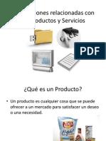 Las Decisiones Relacionadas Con Los Productos y Servicios Clase 3