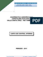 Carta de Control Santa Cruz 2011
