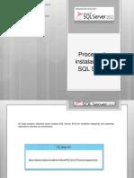 Proceso de instalación de SQL Server