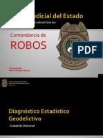 Diagnostico geoestadístico ROBOS