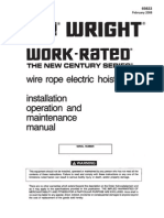 Work Rated Wire Rope Manual