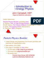 Nuclear Physics and Elementary Particles- Helmhotz Zentrum Berlin  (introduction)