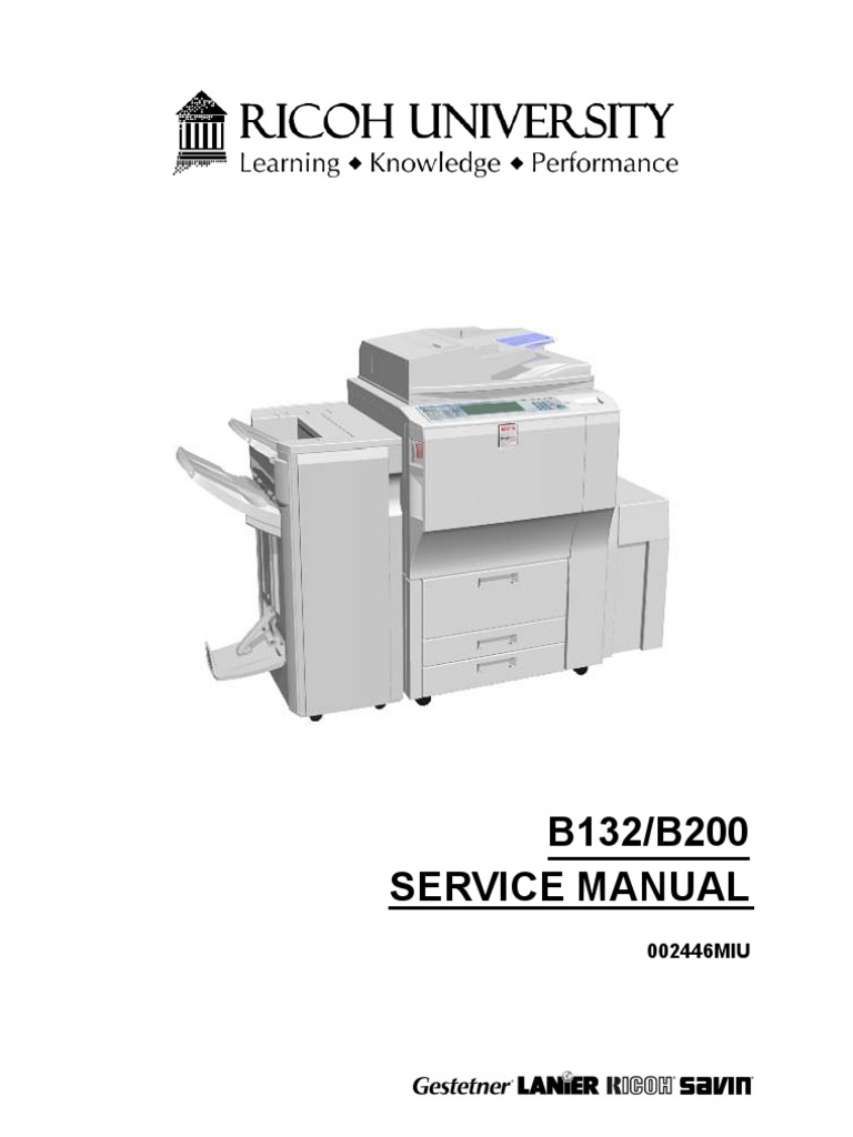 ricoh aficio 3260 service manual rh scribd com Ricoh Aficio Printer Ricoh C3300 Toner Cartridges