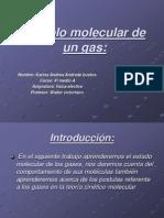 Modelo Molecular de Un Gas