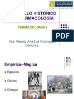 2 - Desarrollo Historico de La Farmacologia