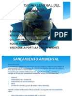 Saneamiento Ambiental Introduccion