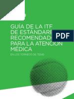Guía ITF estándares recomendados para atención médica en Torneos de Tenis